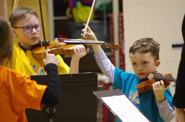 Miramichi youths hold first Sistema concert