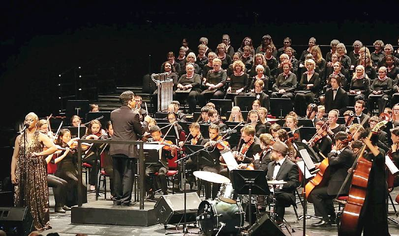 Youth orchestra tuned up for home show Sunday afternoon