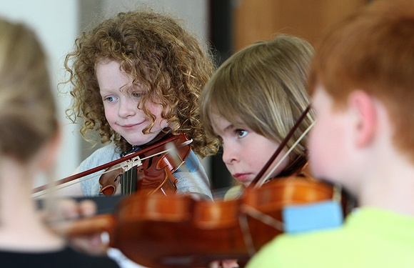 NB YOUTH ORCHESTRA HOLDING INSTRUMENT DRIVE